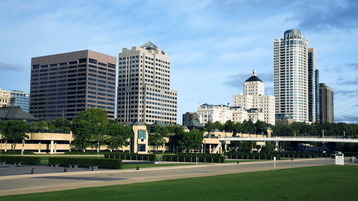 City skyline of Milwaukee, Wisconsin