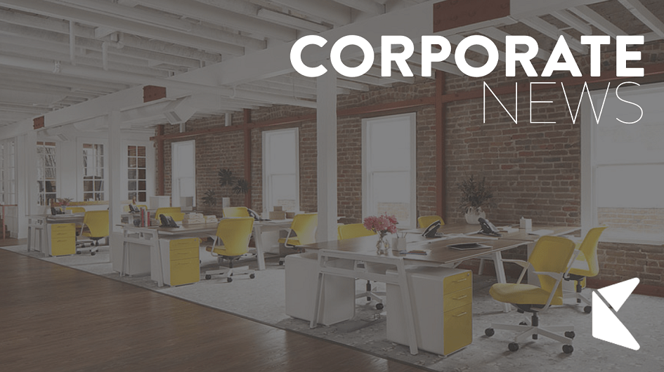 Office space corporate news logo